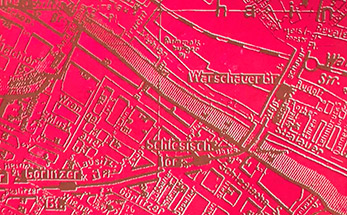 Maps 1899, 1945, 1961|Daimler Services | Berlin